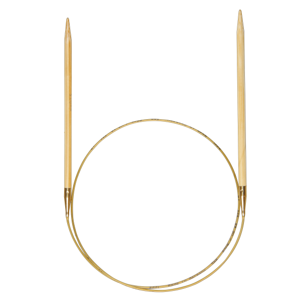 Rundstricknadel Bamboo - 40 cm