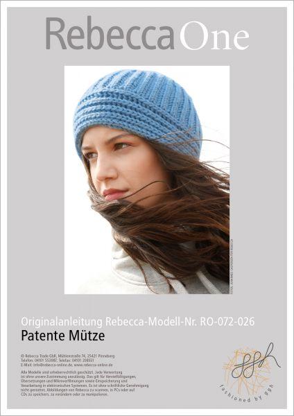 Strickanleitung - Patente Mütze