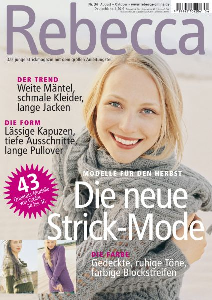 Rebecca Heft Nr. 34